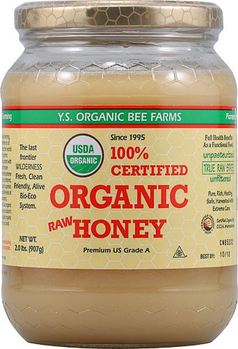 YS Organic Bee Farms Raw Honey -- 2 lbs