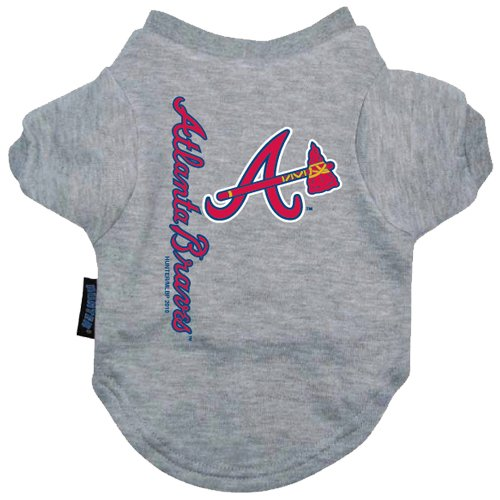 Hunter MFG Atlanta Braves Dog Tee, Large at Amazon.com