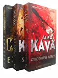 Alex Kava Alex Kava - Maggie Odell Series - 3 books (Split Second / At the Stroke of Madness / Exposed rrp £20.97)