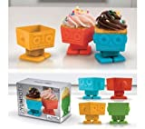 Fred & Friends Yumbots Robot Cupcake Mold