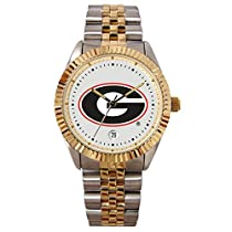 Georgia Bulldogs Suntime Mens Executive Watch - NCAA College Athletics