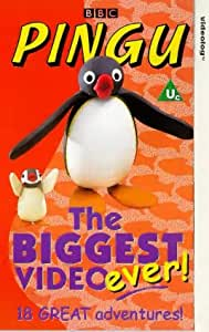 Pingu: The Biggest Video Ever! [VHS]