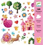 160 Djeco - Stickers - Princesse Marg...