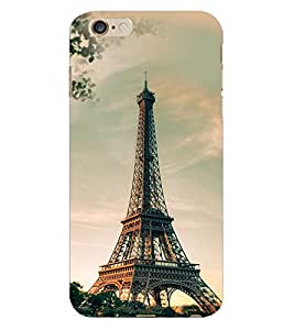 Fuson 3D Printed Eiffel Tower Designer Back Case Cover for Apple iPhone 6 Plus - D749