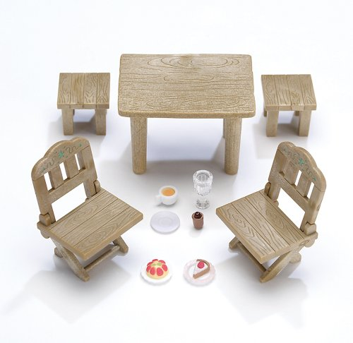Calico Critters Country Patio Furniture Set