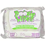 Boogie Wipes Boogie Wipes, Unscented, 30 Count (Pack of 3)