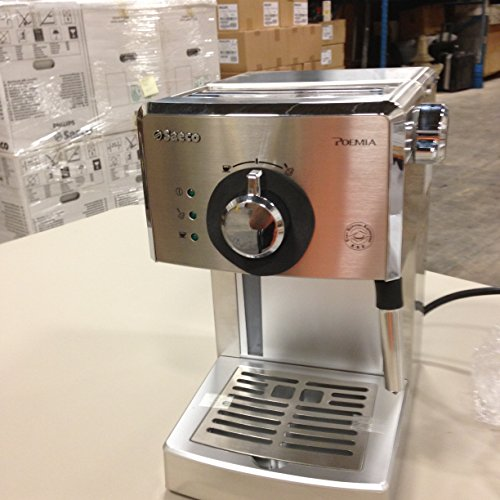 Philips Coffee Maker With Aroma Swirl Metal : International Shipping Philips Saeco HD8327/47 Poemia Top Espresso Machine, Stainless Steel ???? ...