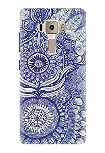 Noise Designer Printed Case / Cover for Asus Zenfone 3 ZE552KL With 5.5 Inches Screen / Patterns & Ethnic / Pasley Design