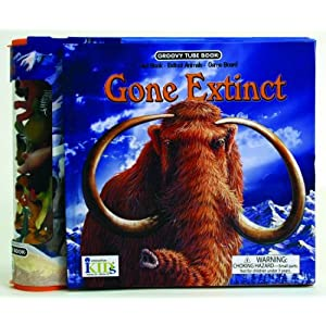 Groovy Tube Books: Gone Extinct! (Fact Book, Game Board and Collectible Figurines)