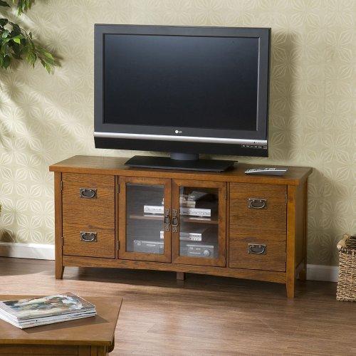 Colchester Mission Oak TV Stand