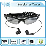 All4life 1080P HD Camera Glasses With Bluetooth Handsfree Answer and MP3 Video Recording Sport Sunglasses DVR Eyewear