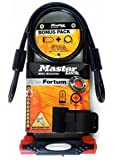 Master Lock Gold Sold Secure Bike Lock & Cable Large