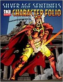 Silver Age Sentinels D20 Character Folio: 9781894525688: Amazon.com