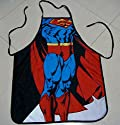 MeMoreCool New Superman Kitchen Apron Fashion Personality Kitchen Aprons Funny Tricky Cooking Aprons for Male & Female Anime Cosplay Aprons Boyfriend/Girlfriend Gifts