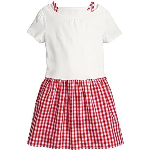 (コムサイズム)comme ca ism(コムサイズム) ギンガムチェックドッキングドレス 98-37OM17 10 レッド 100cm