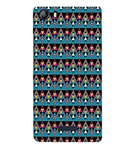 EPICCASE cris cross Mobile Back Case Cover For Micromax Canvas 5 E481 (Designer Case)