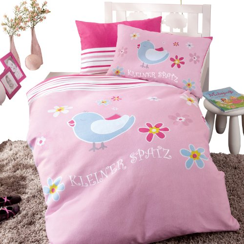 produkt baby butt bettw sche biber rose gr e 100x135 cm. Black Bedroom Furniture Sets. Home Design Ideas