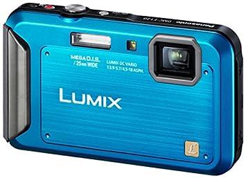 """Panasonic DMC-FT20EG-A Appareil photo numérique 16 mégapixels, zoom optique 4 x, écran 6,7 cm (2,6""""), stabilisateur d'image (Bleu)"""