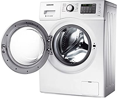 Samsung WF600B0BHWQ Fully-automatic Front-loading Washing Machine (6 Kg, White)