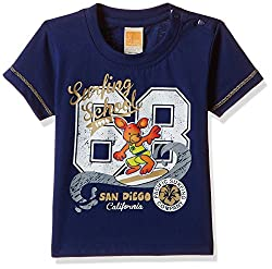 Little Kangaroos Baby Boys' T-Shirt (11359_Navy_9 months)