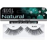 Ardell Fashion Lashes False Eyelashes - #111 Black (Pack of 4) (Pack of 2)