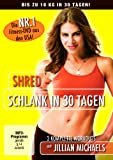 DVD & Blu-ray - Jillian Michaels - Shred: Schlank in 30 Tagen