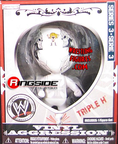 Buy Low Price Jakks Pacific Triple H Vinyl Aggression Series 3 (3in Figure) (B002AQKW2I)