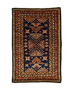Design Community By Loomier Alfombra Ozbeki Ghazni A (Azul/Marrón/Multicolor)