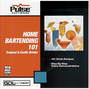 Click to buy Home Bartending- 101 Tropical Drinksfrom Amazon!