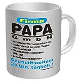 Tasse Firma Papa GmbH - im Geschenkkarton