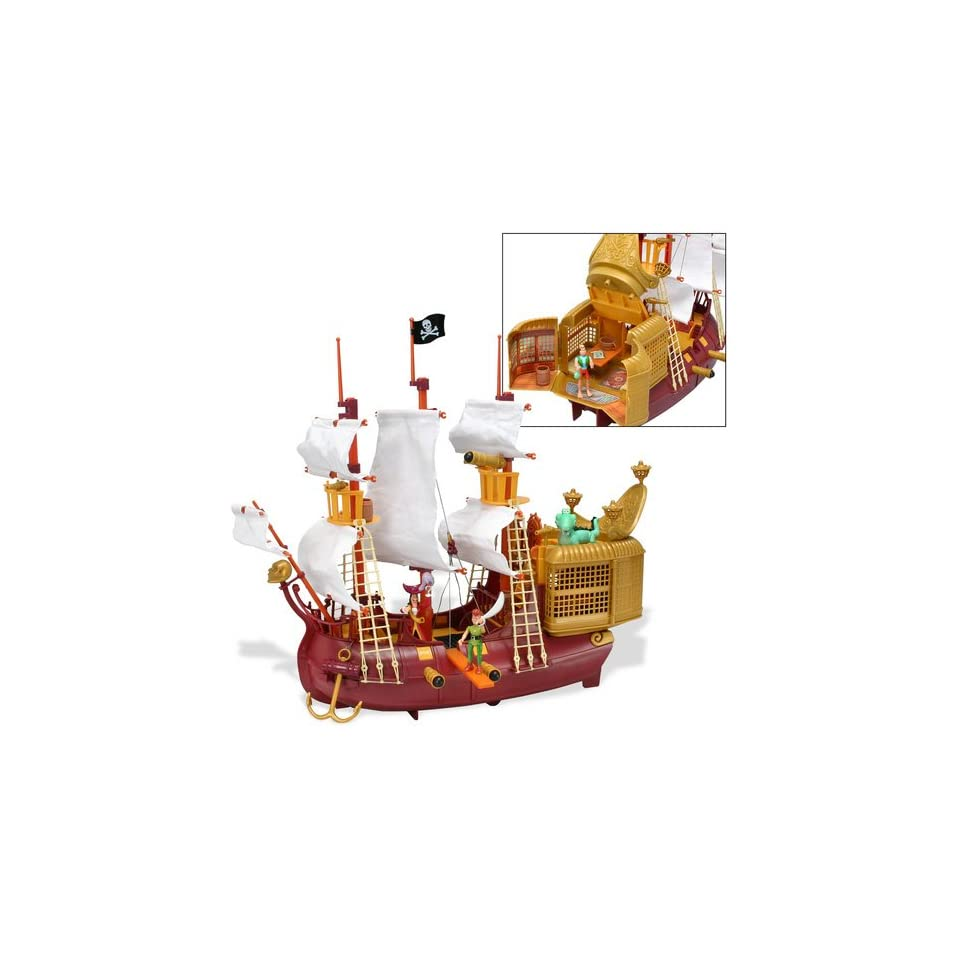 Peter Pan Pirates Heroes   Jolly Roger Pirate Galleon