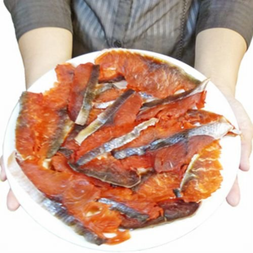 訳あり (不揃い)(味付 燻製 風味)  鮭 トバ 1kg ( とば 鮭とば サケトバ )【写真は200gです】