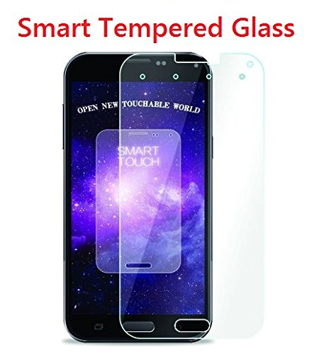 NuGlass Smart Touch Premium Tempered Glass with 4 intelligent Virtual Key - Bubble-free Installation Oleophobic coating completely Transparent Ultra Clear Risk-Free Retail Packaging with cloth and cleaning pad Easy to Install Protects display screen from bumps, scratch, drops and mark reach custom defined Android apps independently with display with one click - Samsung Galaxy S6 only