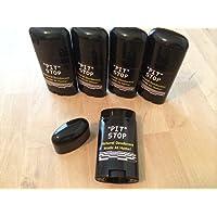 5 Empty Deodorant Containers 2.5oz
