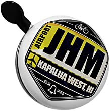 Bicycle Bell Airportcode JHM Kapalua West HI by NEONBLOND