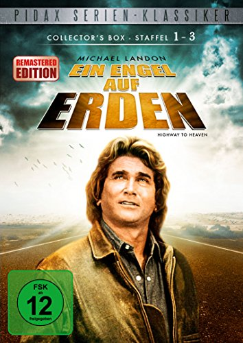 Ein Engel auf Erden - Staffel 1 + 2 + 3 / Collector's Box-Remastered-Edition (Highway To Heaven) [19 DVDs]