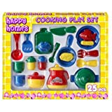Happy Homes 25 Piece Cooking Kitchen Play Setby Kandy Toys