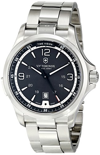 Victorinox Men's 241569 Night Vision Analog Display