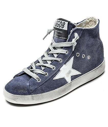 Golde Goose Kid's Vintage Suede High Top Sneakers