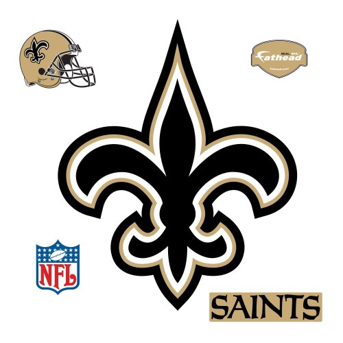 Fathead New Orleans Saints Logo Wall Decal at Amazon.com