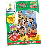 OFFICIAL Panini Adrenalyn XL World Cup 2014 Brazil (Brasil) Starter Binder Pack (UK Version) - Random Limited Edition Card