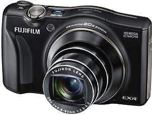 Fujifilm FinePix F800EXR Kompaktkamera (16 Megapixel, 20-fach opt.Zoom, 7,6 cm (3 Zoll) Display, Full HD) schwarz