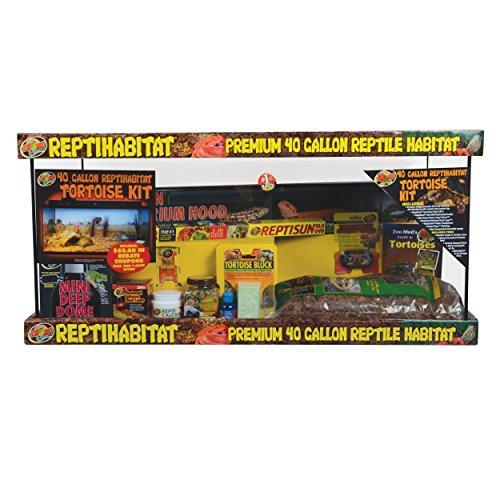 Zoo Med 26342 Reptihabitat Tortoise Kit, 40 gallon (Tortoise Table compare prices)