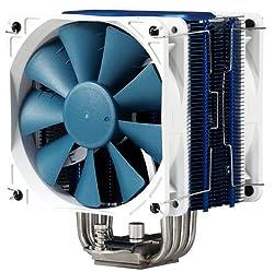 Phanteks U-Type Dual Tower Heat-Sink CPU Cooler PH-TC12DX_BL, Blue