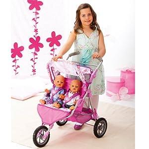 Baby Born TWIN POUSSETTE POUPEE: Amazon.fr: Jeux et Jouets