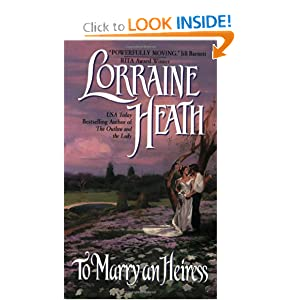 To Marry an Heiress Lorraine Heath