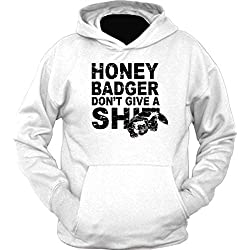 Honey Badger Don't Give A Shit Hoodie