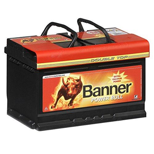 banner power bull autobatterie 12v 72ah 660a p7209 test adac stiftung warentest sehr gut. Black Bedroom Furniture Sets. Home Design Ideas