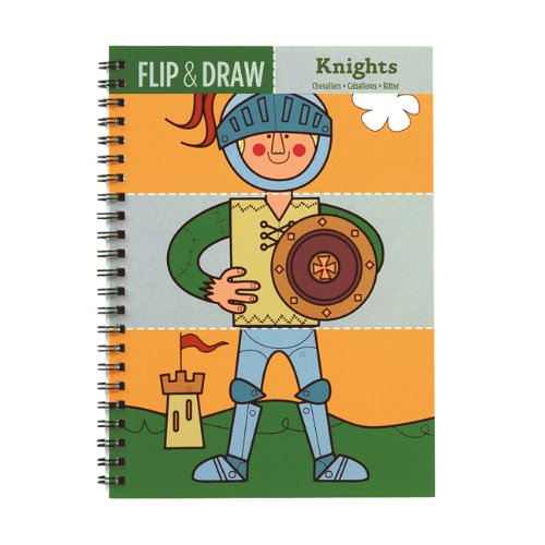 Mudpuppy Knights Flip & Draw