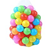 [OneStepAdvance] カラーボール 7色100個入り 直径5.5cm やわらかポリエチレン製 (プール/ボールハウス用)
